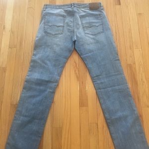 American Eagle slim straight 360 flex jeans 38x36